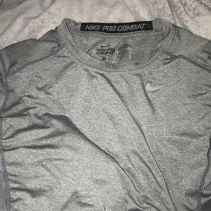 Nike long sleeve work out shirt